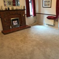 Carpet flooring in lounge fitted by The Carpet Store Brandon