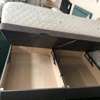 bed with storage at the carpet store Brandon